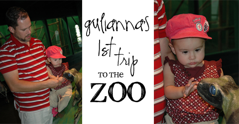 1st trip to zoo