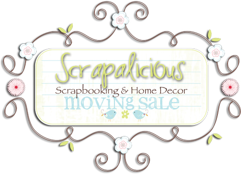 Scrapalicious moving sale