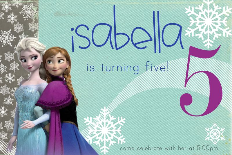Isabella invitation
