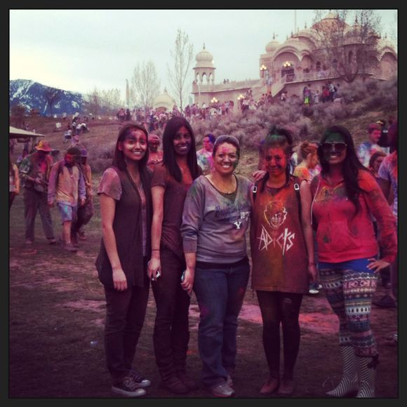 festival of colors...
