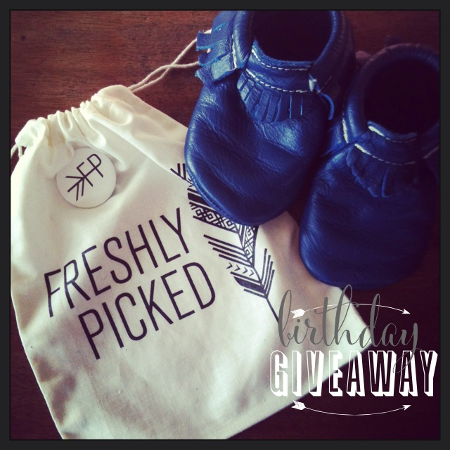Freshly picked giveaway