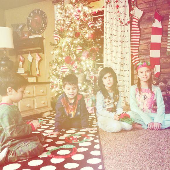 Christmas pajamas...