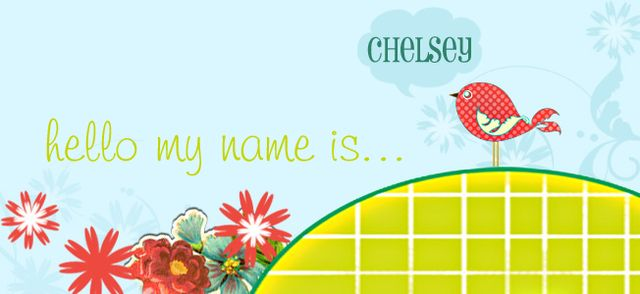 Hello my name is chelsey