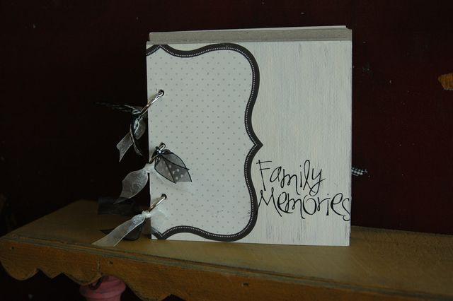 Family memories mini book